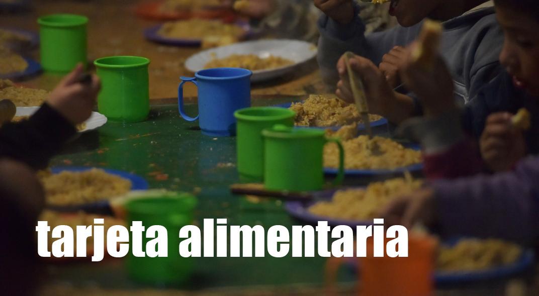 Nuevas Tarjetas Alimentarias