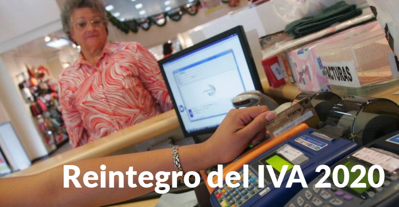 Reintegro del IVA 2020