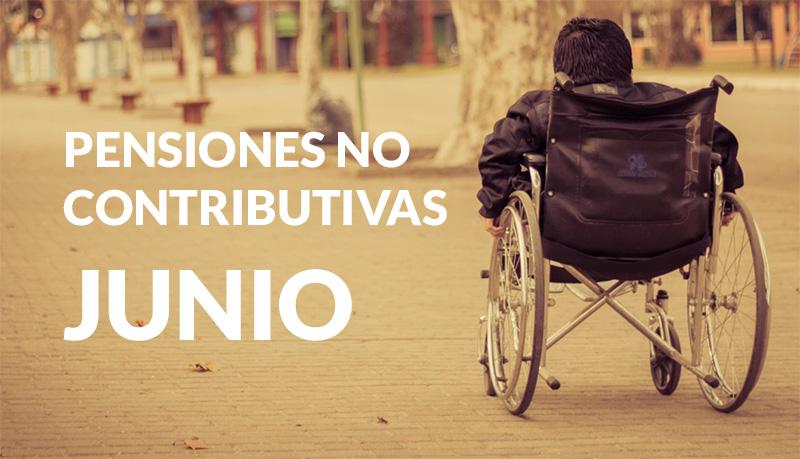 Pensiones No Contributivas JUNIO