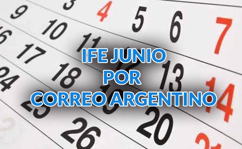 Fecha de cobro IFE por correo Argentino